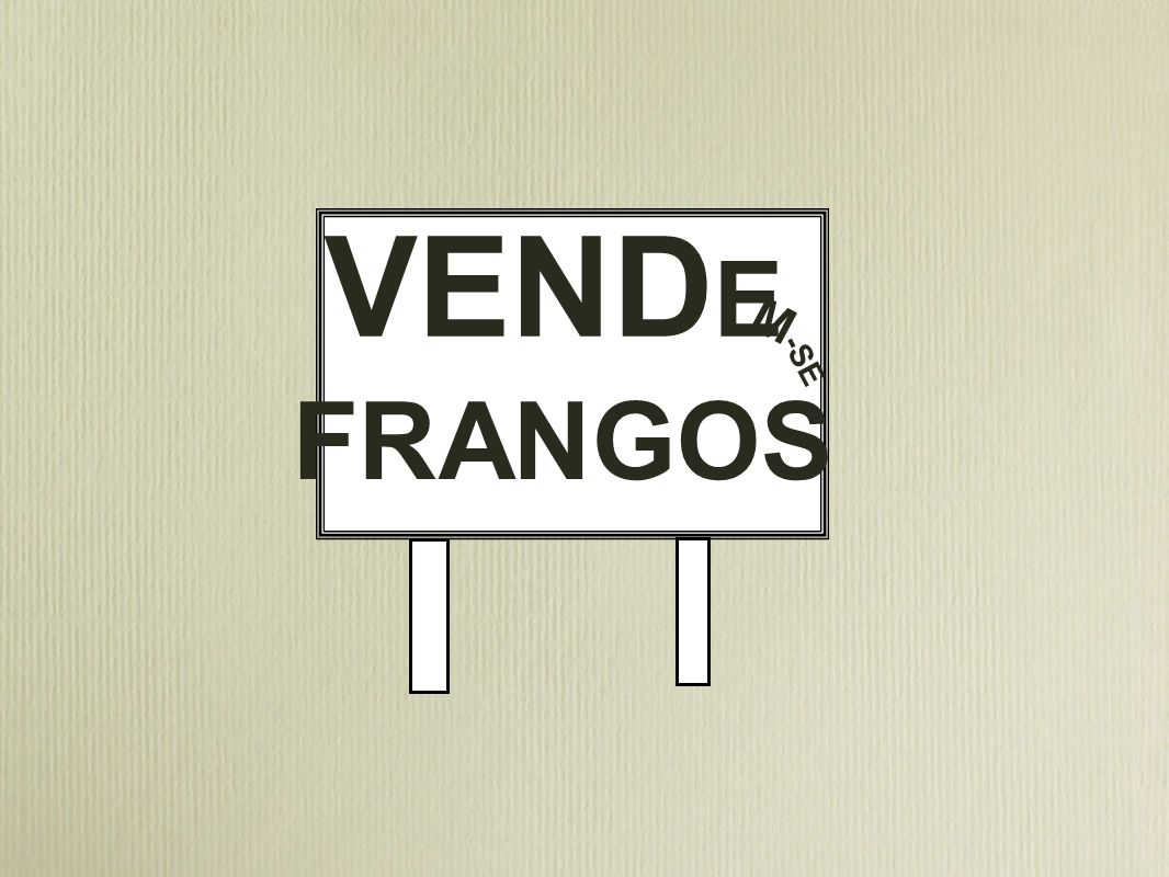 VENDE M -SE FRANGOS