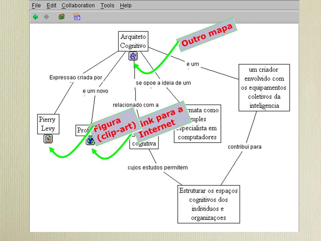 Outro mapa ~ ~ ^ Link para a Internet Figura (clip-art)