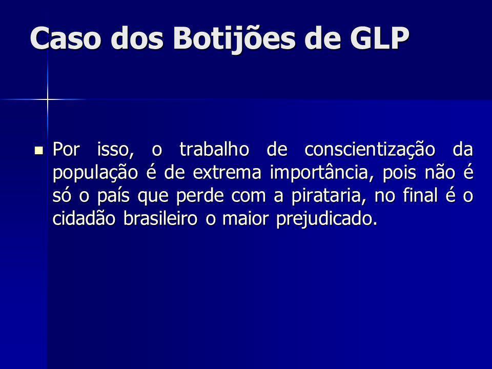 Caso dos Botijões de GLP
