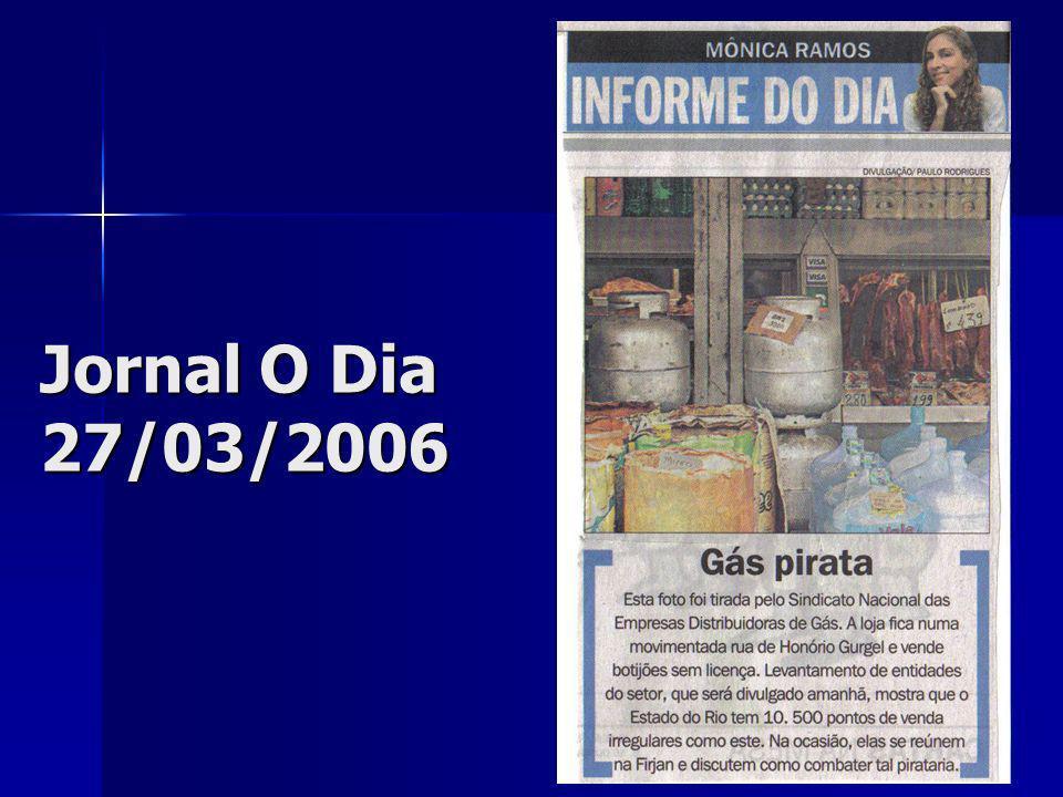 Jornal O Dia 27/03/2006