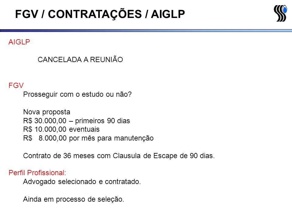 FGV / CONTRATAÇÕES / AIGLP