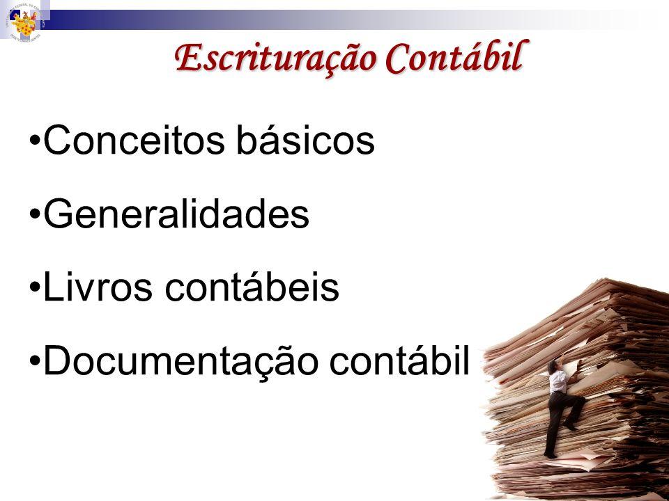 Escrituração Contábil