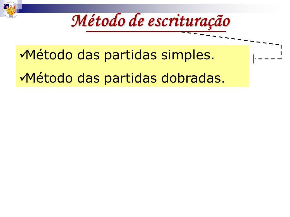 Método de escrituração