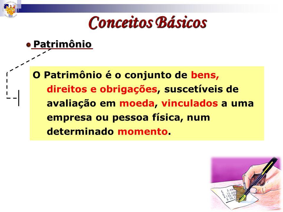 Conceitos BásicosPatrimônio.