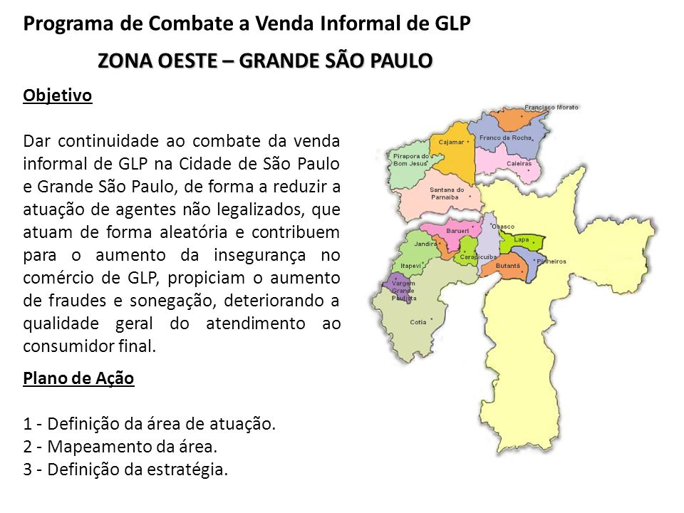 Programa de Combate a Venda Informal de GLP