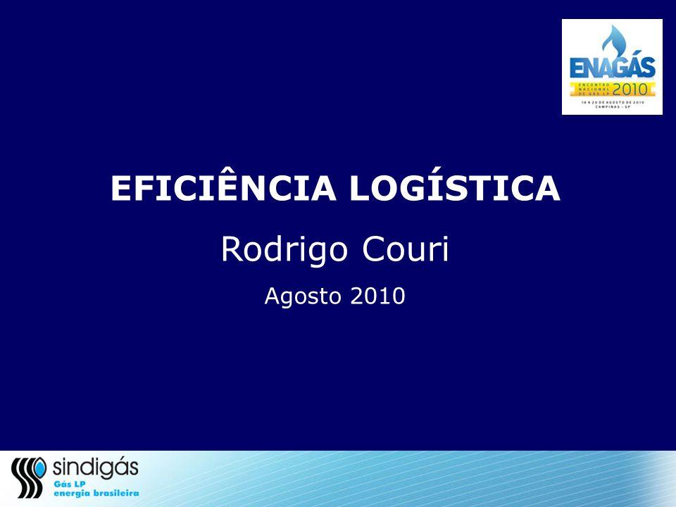 EFICIÊNCIA LOGÍSTICA Rodrigo Couri Agosto 2010