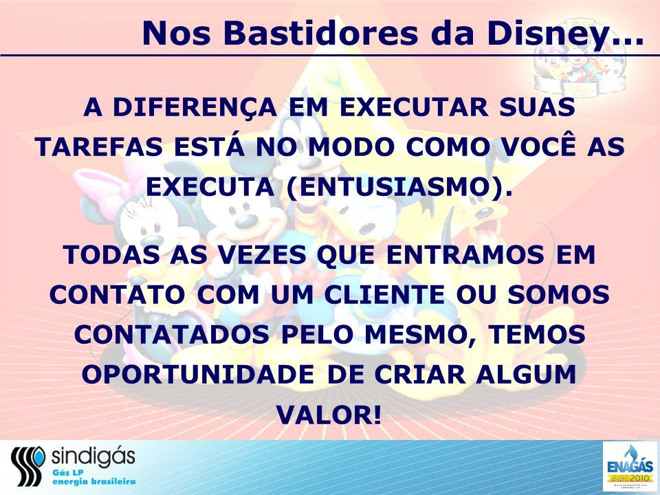 Nos Bastidores da Disney...