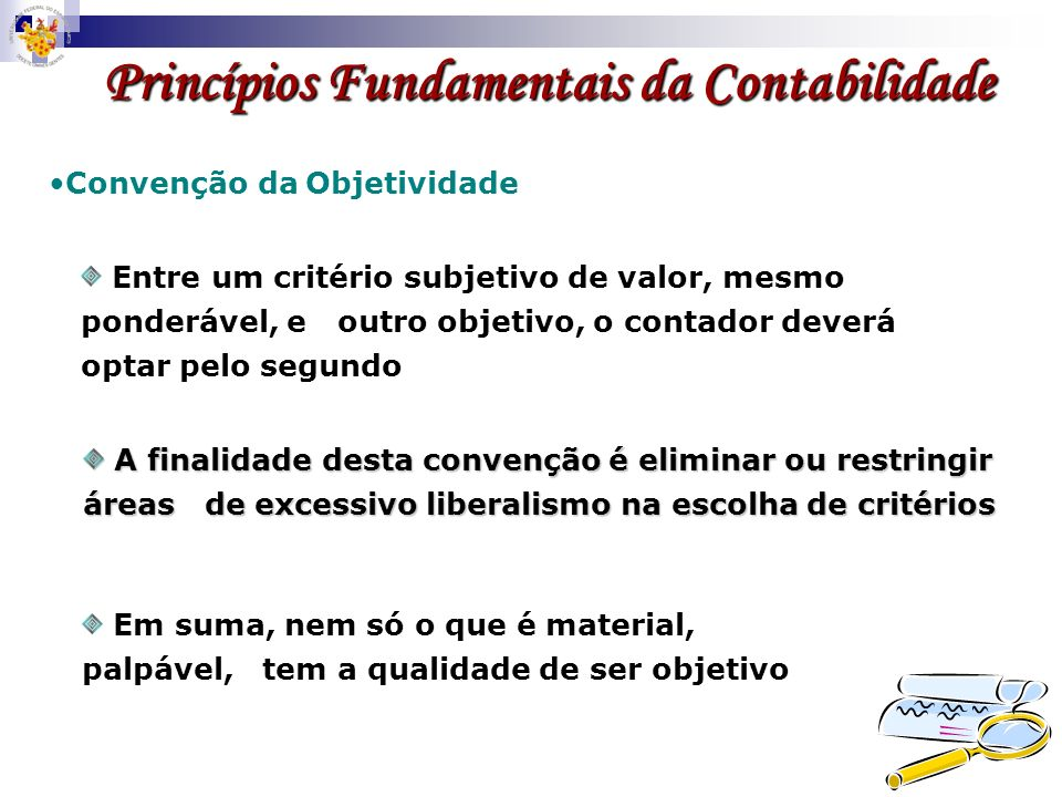 Princípios Fundamentais da Contabilidade
