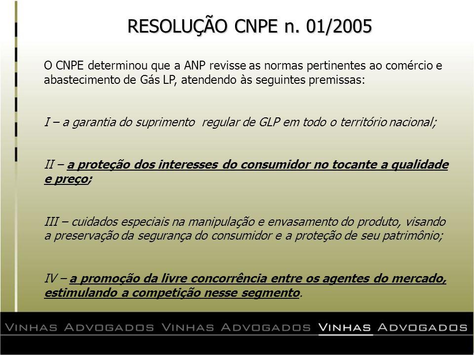 RESOLUÇÃO CNPE n. 01/2005