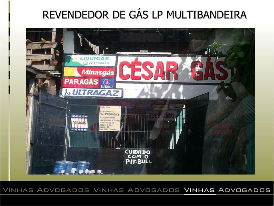 REVENDEDOR DE GÁS LP MULTIBANDEIRA