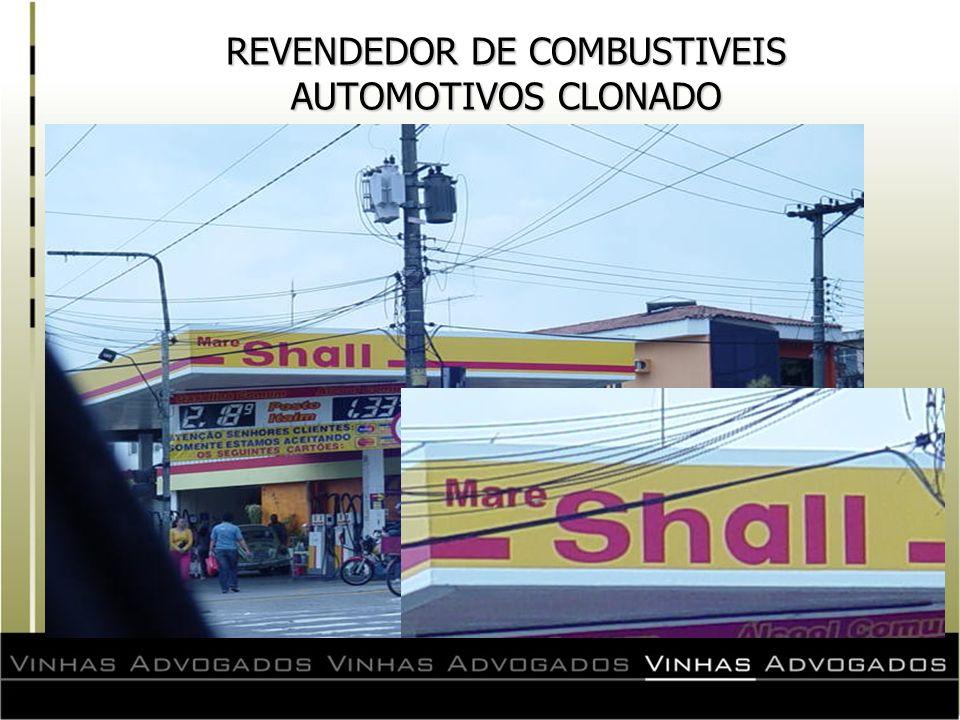 REVENDEDOR DE COMBUSTIVEIS AUTOMOTIVOS CLONADO