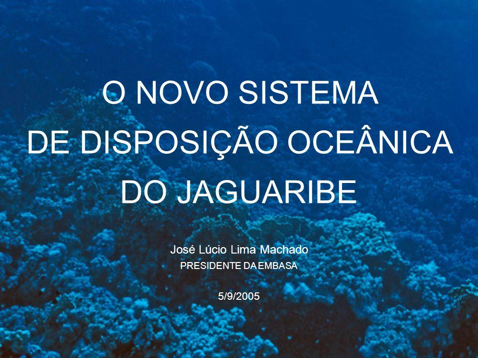 DE DISPOSIÇÃO OCEÂNICA DO JAGUARIBE