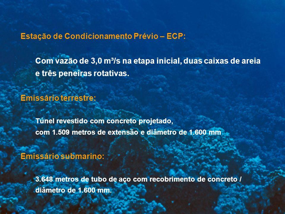 Estação de Condicionamento Prévio – ECP: