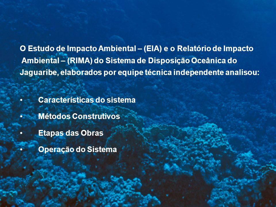 O Estudo de Impacto Ambiental – (EIA) e o Relatório de Impacto