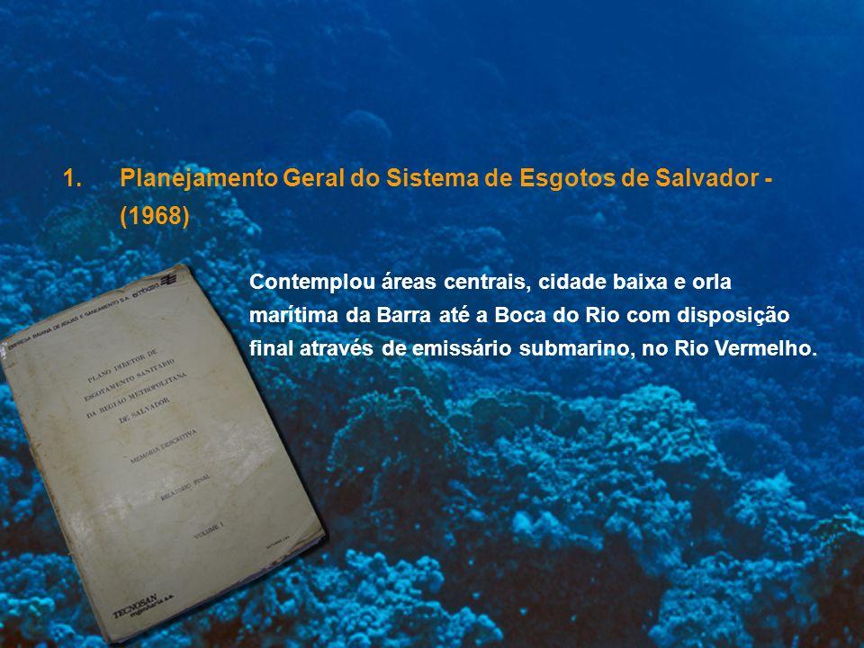 Planejamento Geral do Sistema de Esgotos de Salvador - (1968)