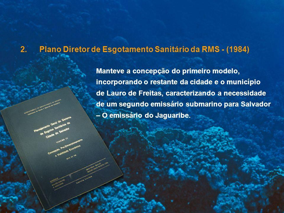 Plano Diretor de Esgotamento Sanitário da RMS - (1984)