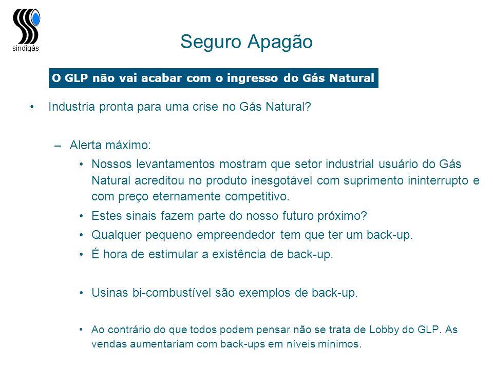 O GLP não vai acabar com o ingresso do Gás Natural