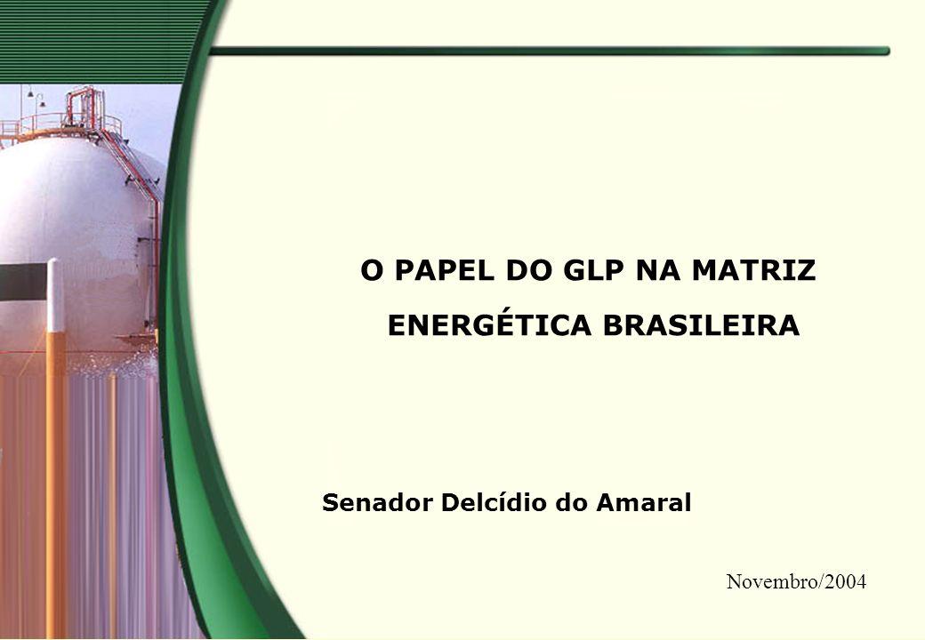 O PAPEL DO GLP NA MATRIZ ENERGÉTICA BRASILEIRA