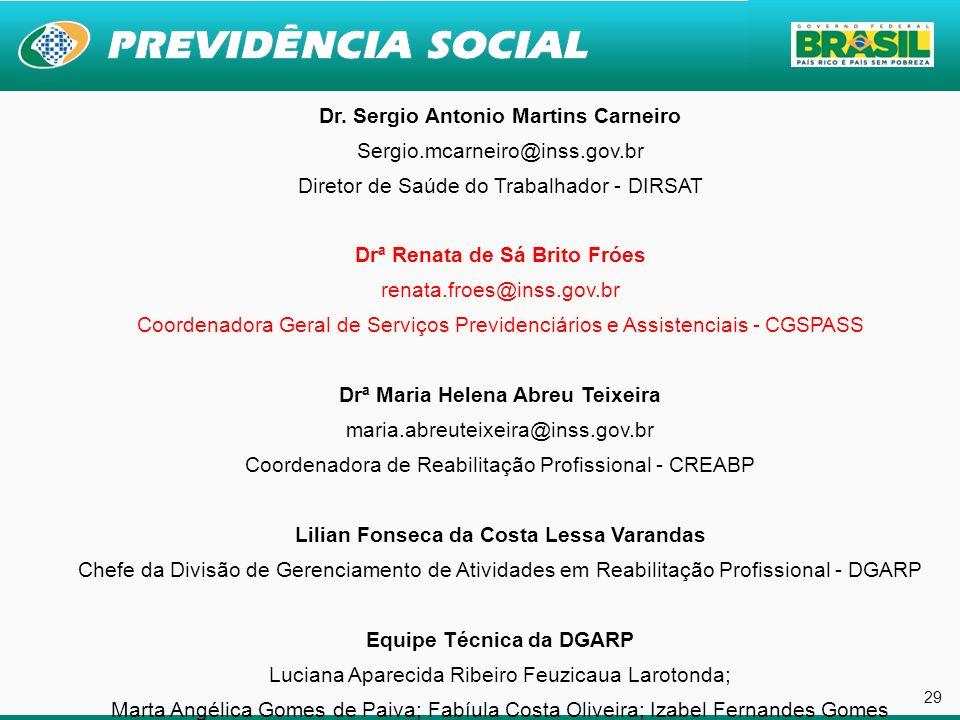 29 29 29 29 Dr. Sergio Antonio Martins Carneiro