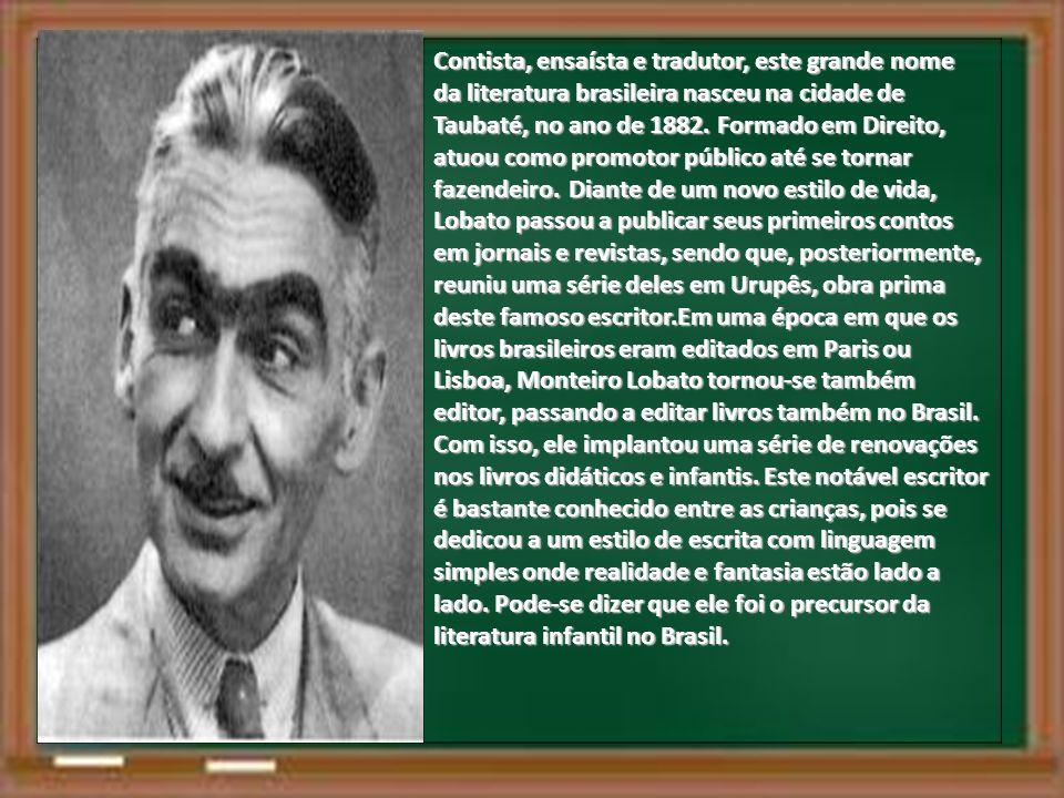 Contista, ensaísta e tradutor, este grande nome da literatura brasileira nasceu na cidade de Taubaté, no ano de 1882.