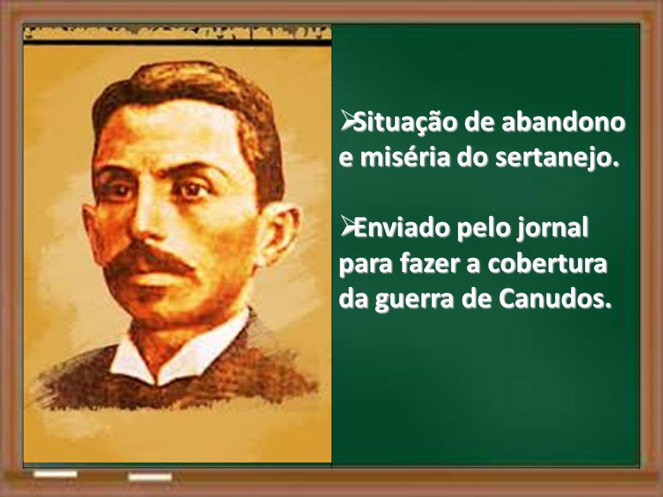 Situação de abandono e miséria do sertanejo.