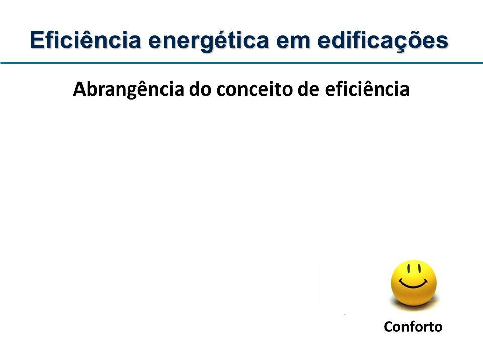 Abrangência do conceito de eficiência