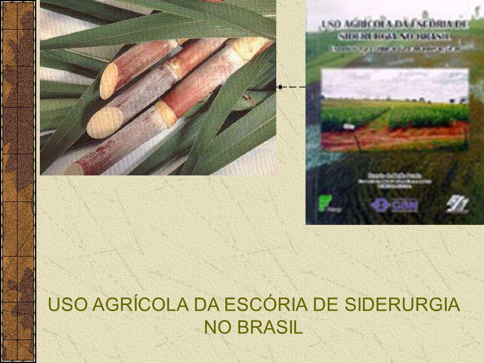 USO AGRÍCOLA DA ESCÓRIA DE SIDERURGIA NO BRASIL