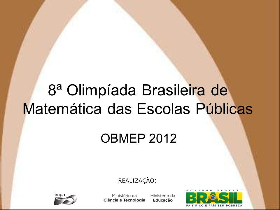 8ª Olimpíada Brasileira de Matemática das Escolas Públicas