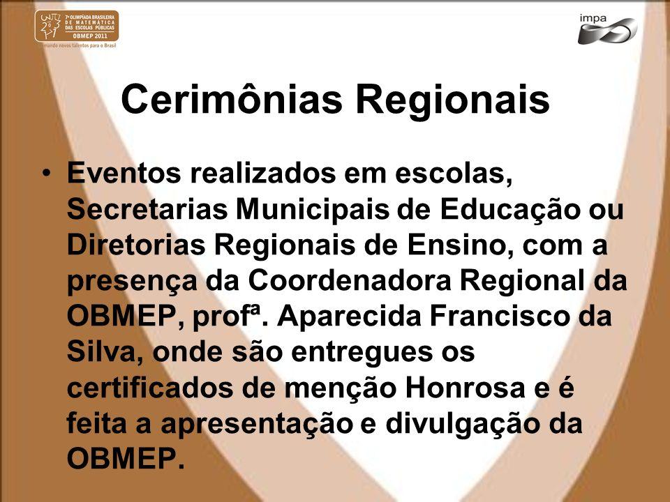 Cerimônias Regionais