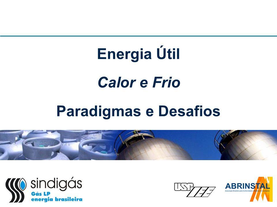 Energia Útil Calor e Frio Paradigmas e Desafios