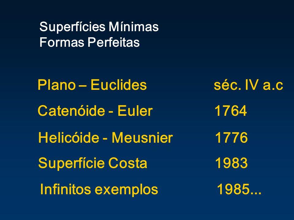 Plano – Euclides séc. IV a.c