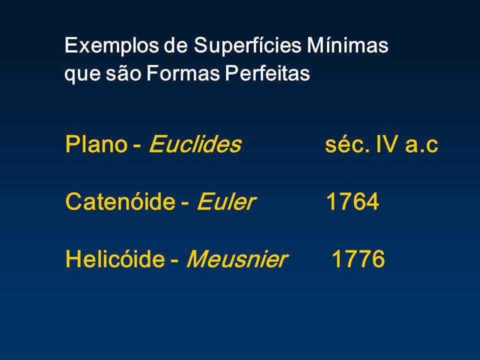 Exemplos de Superfícies Mínimas