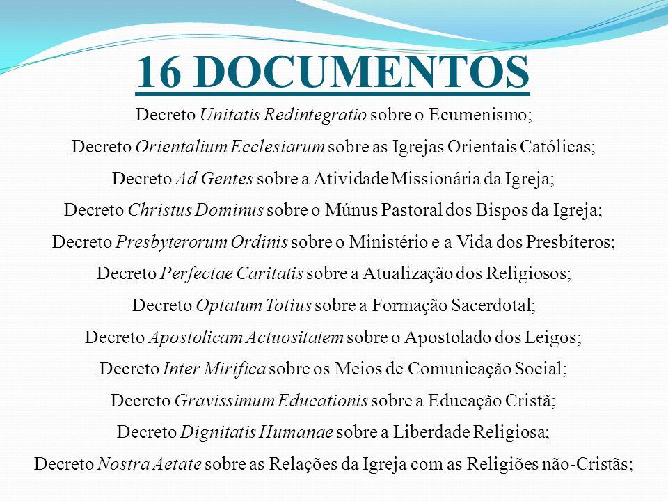16 DOCUMENTOS