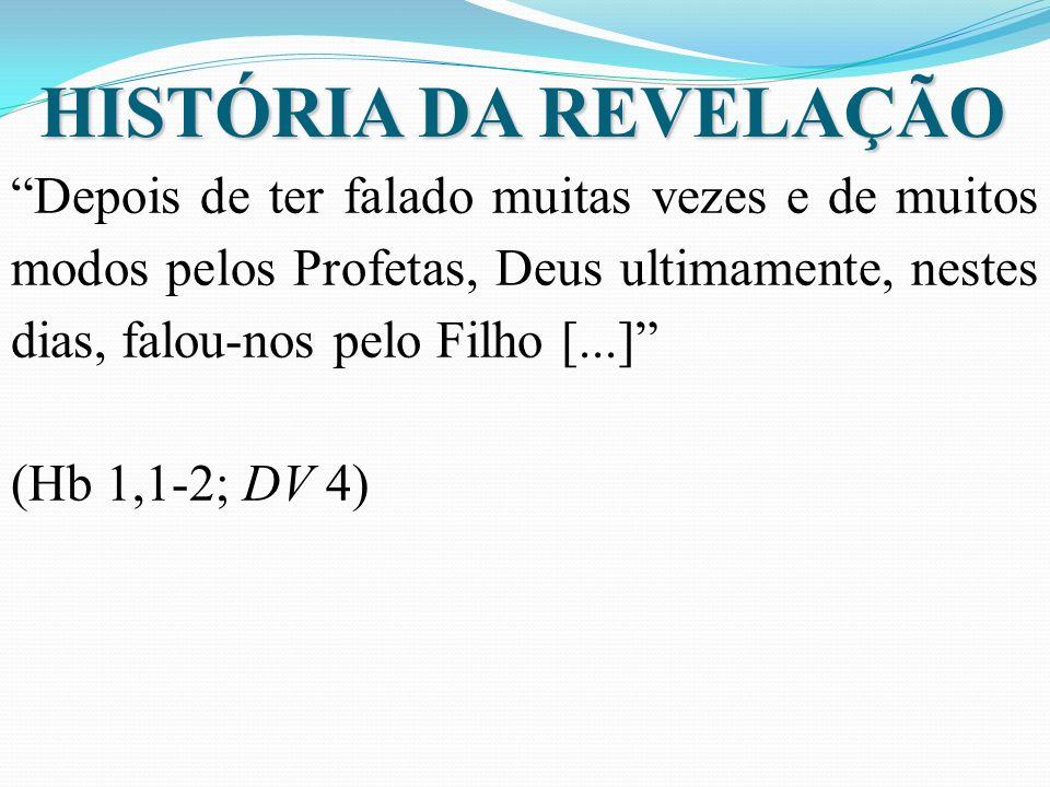 HISTÓRIA DA REVELAÇÃO