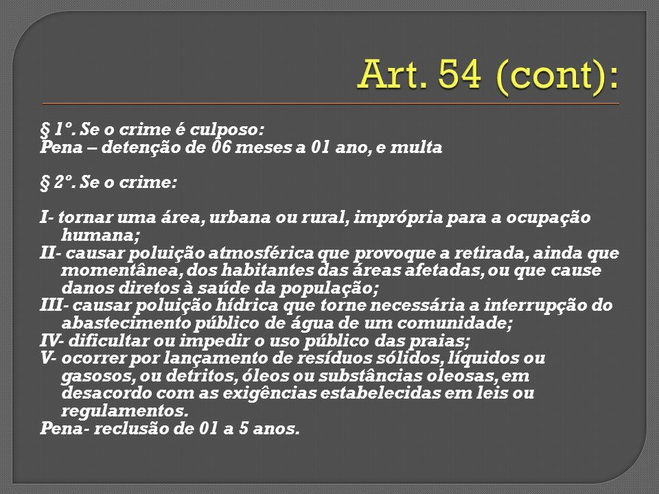 Art. 54 (cont):