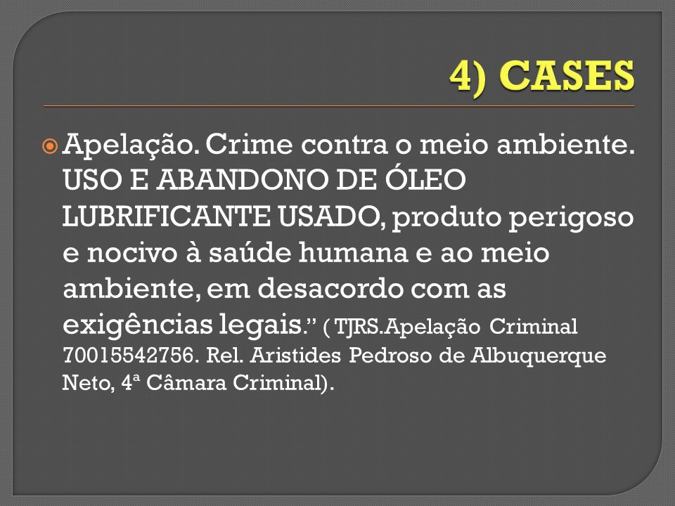 4) CASES