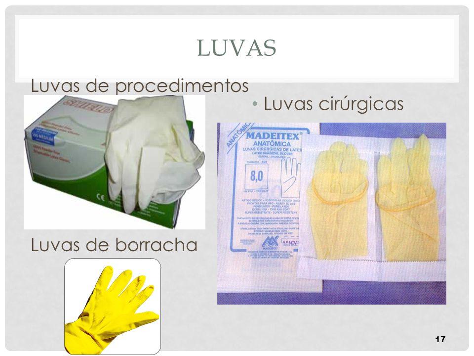 Luvas Luvas de procedimentos Luvas de borracha Luvas cirúrgicas