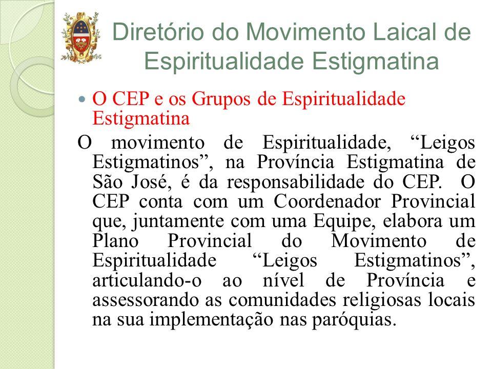 Diretório do Movimento Laical de Espiritualidade Estigmatina