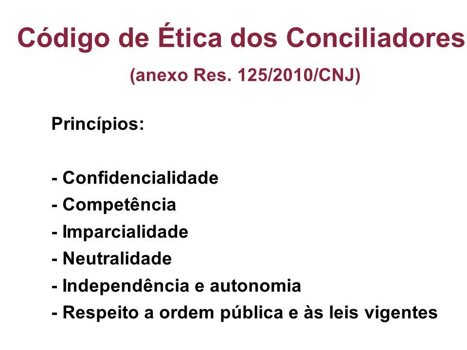 Código de Ética dos Conciliadores