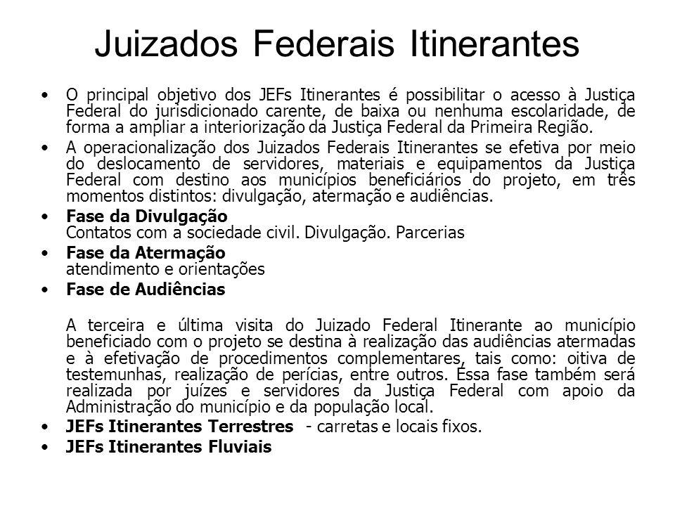 Juizados Federais Itinerantes