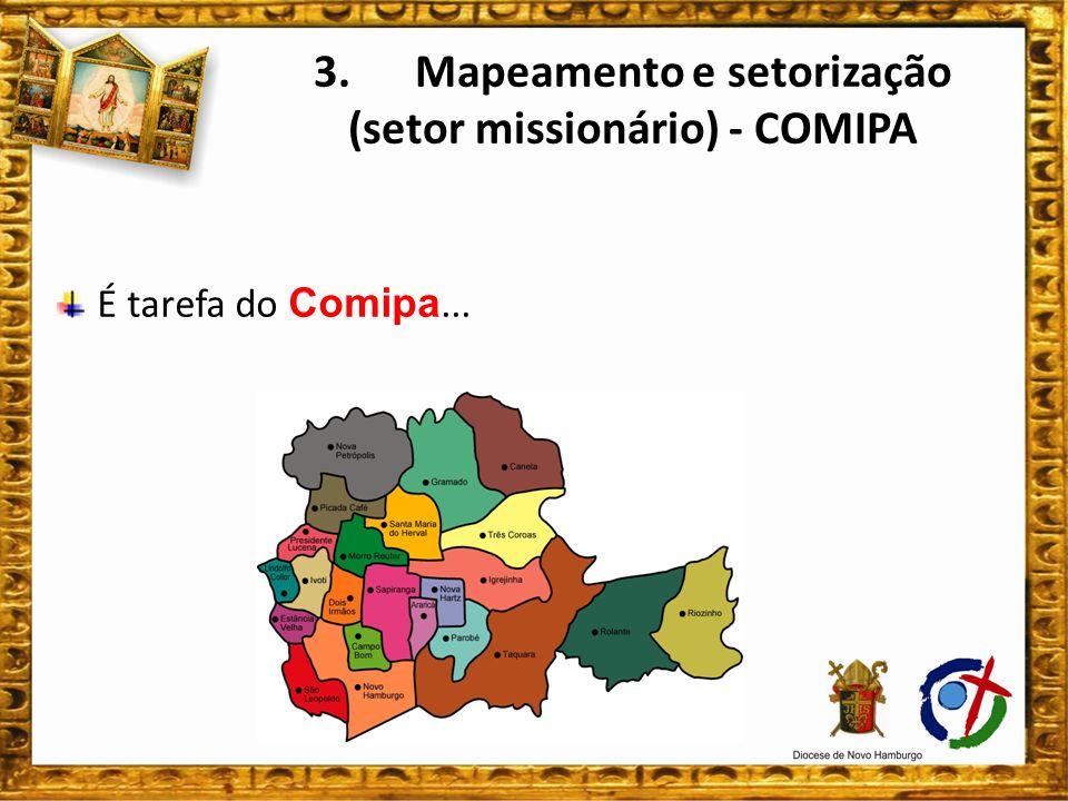 3. Mapeamento e setorização (setor missionário) - COMIPA