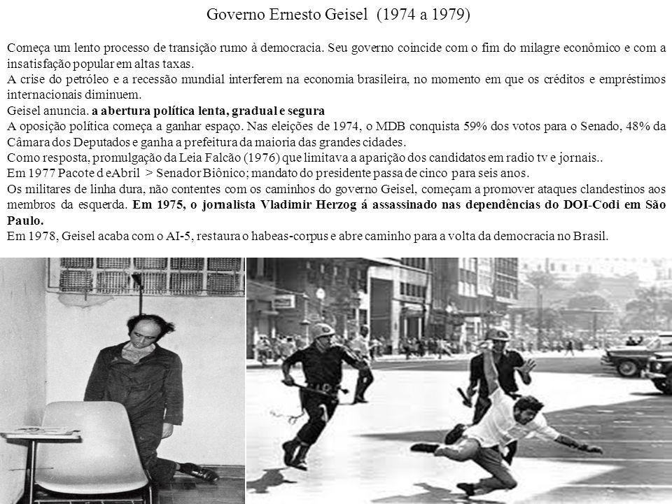 Governo Ernesto Geisel (1974 a 1979)