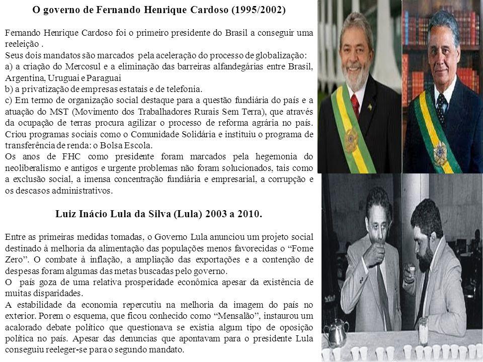 O governo de Fernando Henrique Cardoso (1995/2002)
