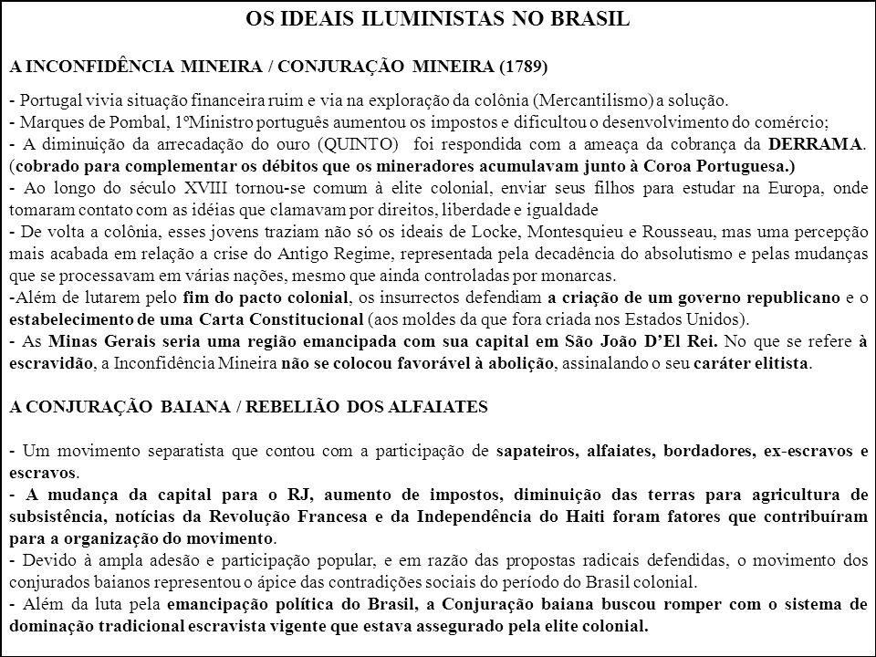 OS IDEAIS ILUMINISTAS NO BRASIL