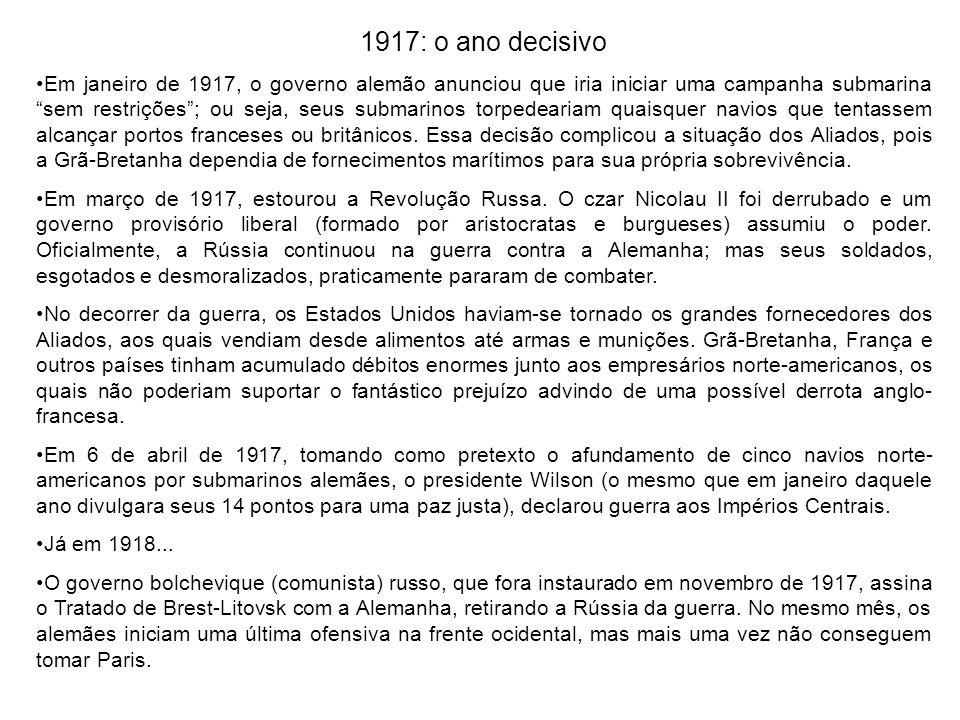 1917: o ano decisivo