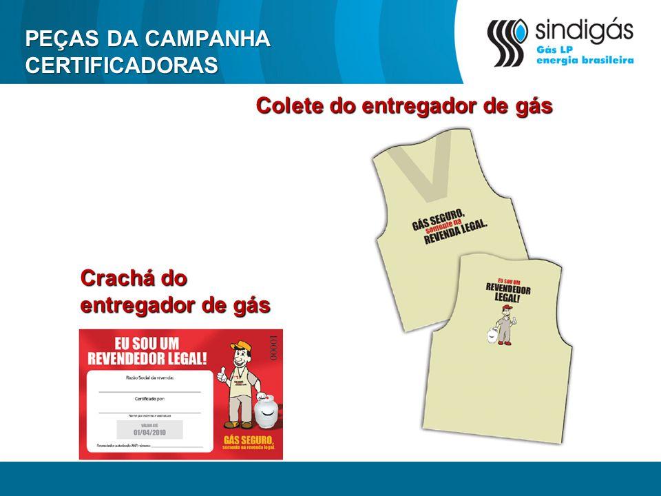 PEÇAS DA CAMPANHA CERTIFICADORAS