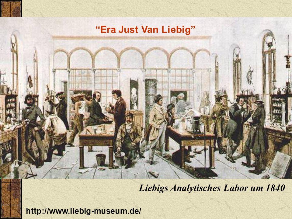 Liebigs Analytisches Labor um 1840