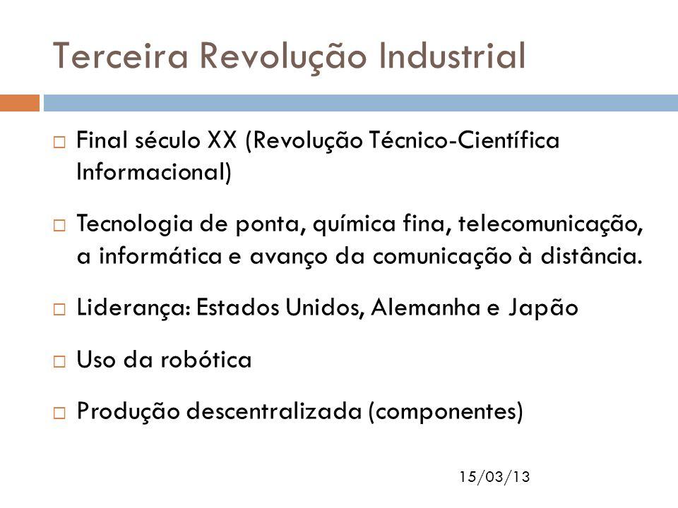 Terceira Revolução Industrial