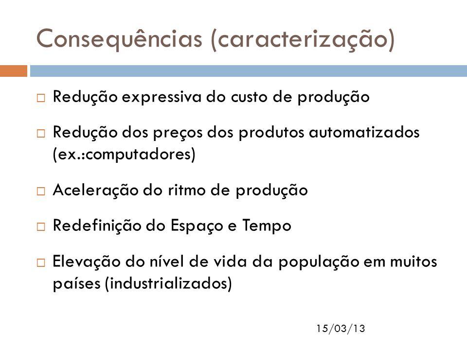 Consequências (caracterização)