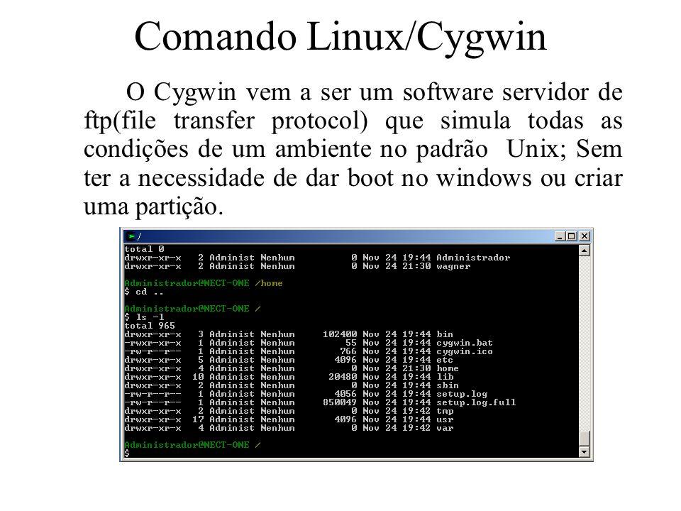 Comando Linux/Cygwin